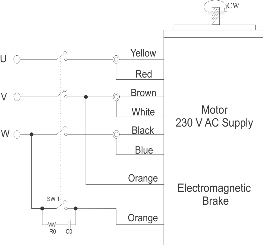 Wiring Diagram for Three Phase Motor